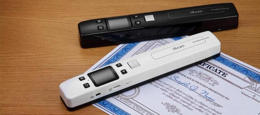 Private Investigator Handheld Document Scanner Tool