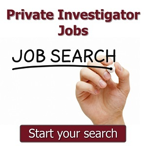 Private Investigator Job Search