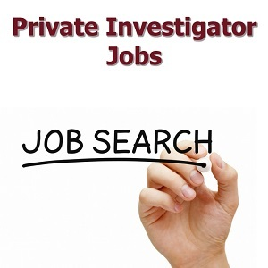 Private Investigator Jobs